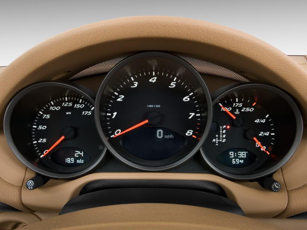 Image 2010 Porsche Boxster 2 Door Roadster Instrument