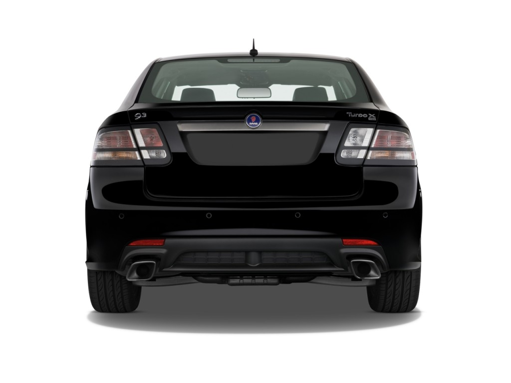 Image 2010 Saab 9 3 4 Door Sedan Xwd Rear Exterior View