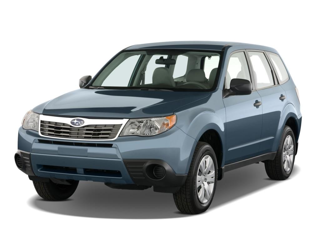 Image 2010 Subaru Forester 4 Door Auto X Angular Front