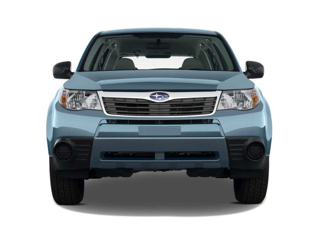 Image: 2010 Subaru Forester 4-door Auto X Front Exterior ...