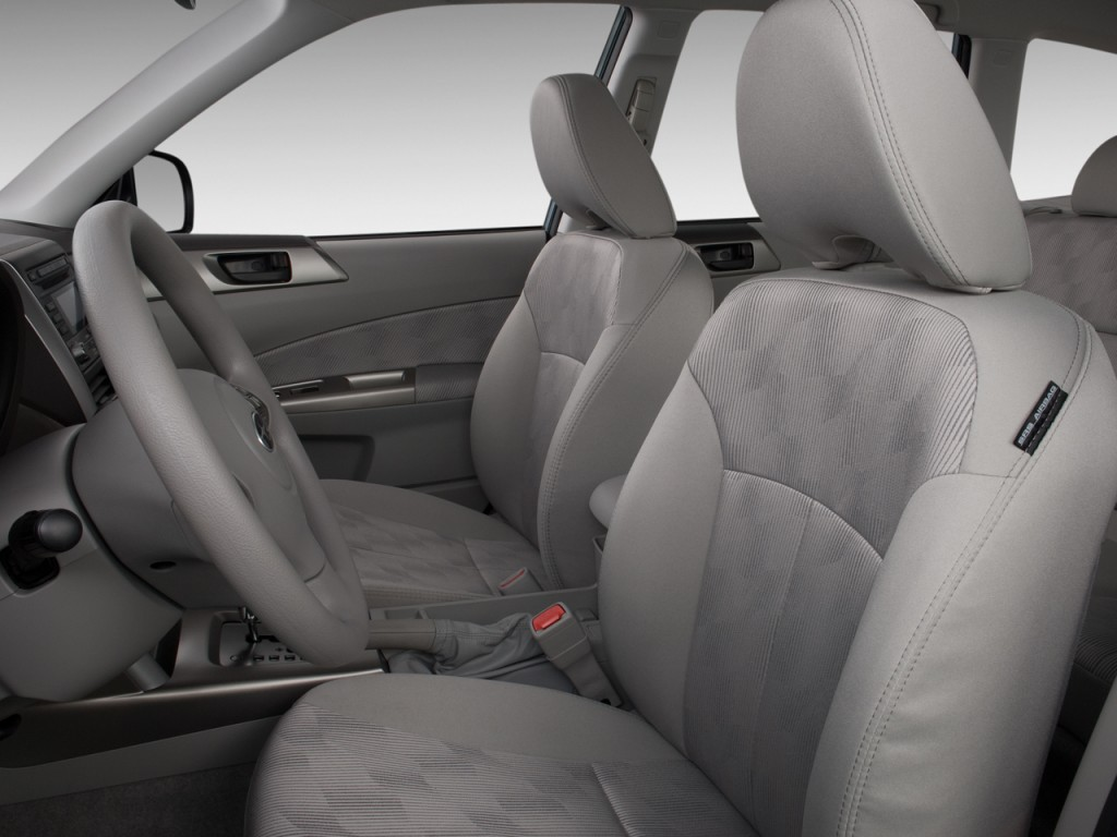 2010 Subaru Forester 4-door Auto X Front Seats