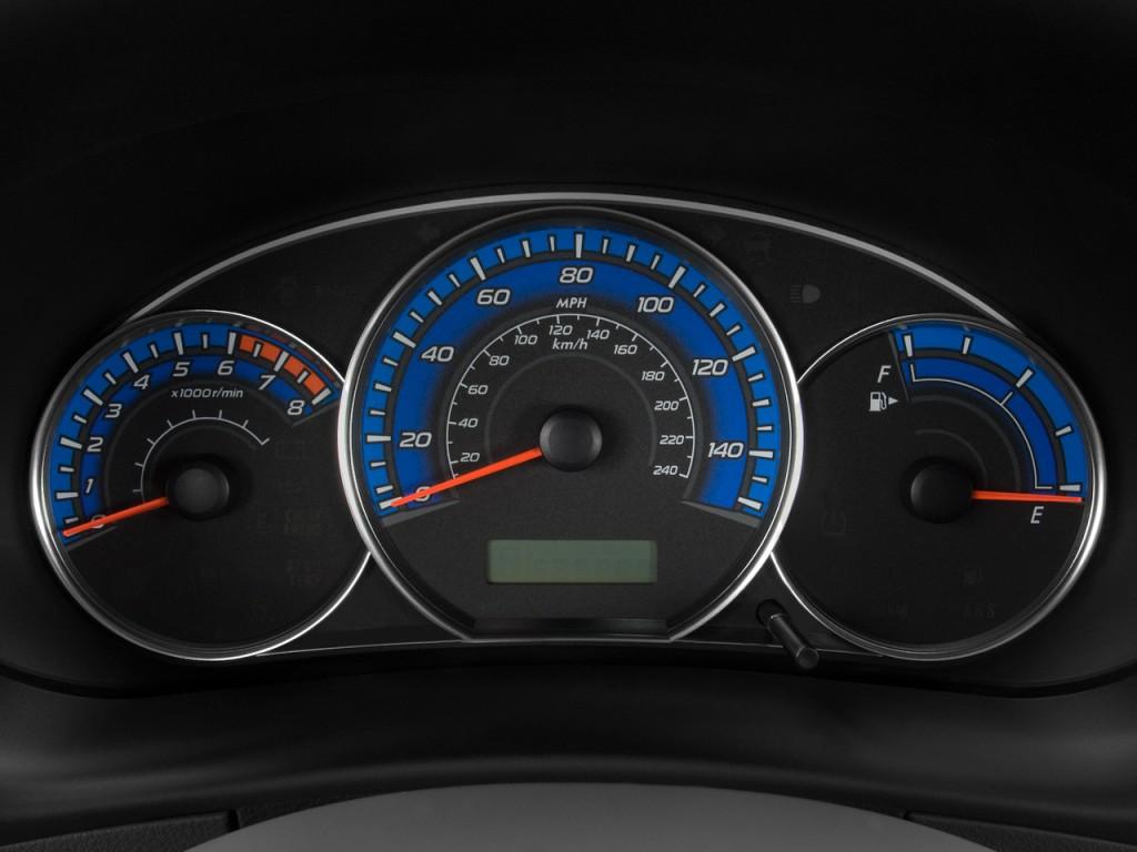 Image 2010 Subaru Forester 4 Door Auto X Instrument