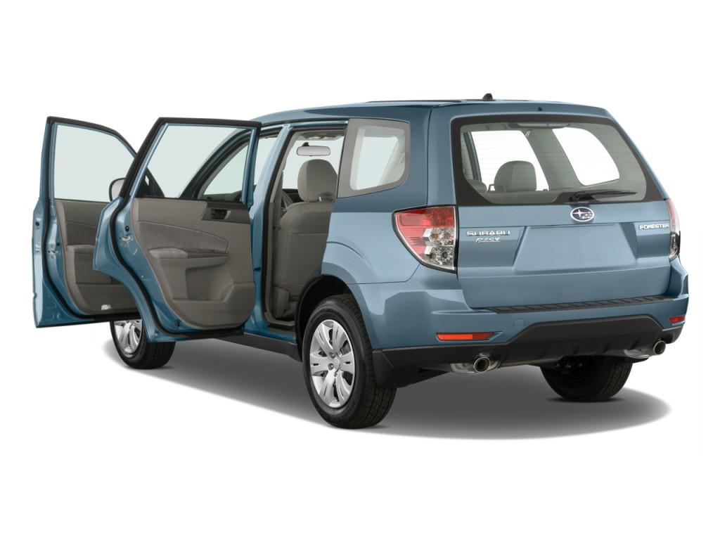2010 Subaru Forester 4-door Auto X Open Doors