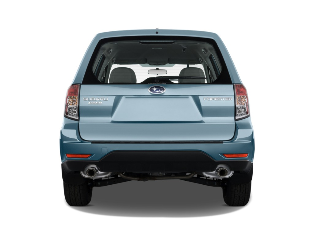 2010 Subaru Forester 4-door Auto X Rear Exterior View