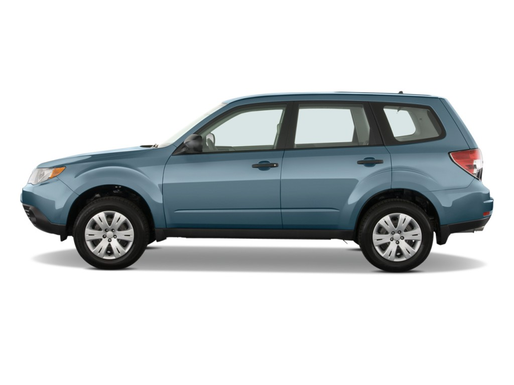 2010 Subaru Forester 4-door Auto X Side Exterior View