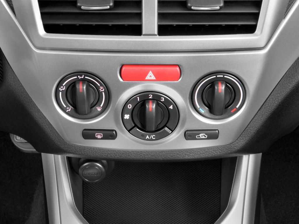 Image 2010 Subaru Impreza Wrx 4 Door Man Temperature