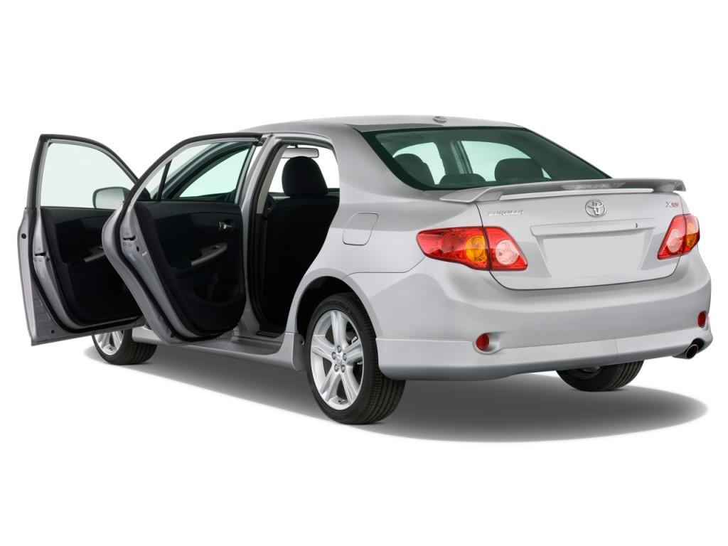 Image: 2010 Toyota Corolla 4-door Sedan Auto XRS (Natl ...