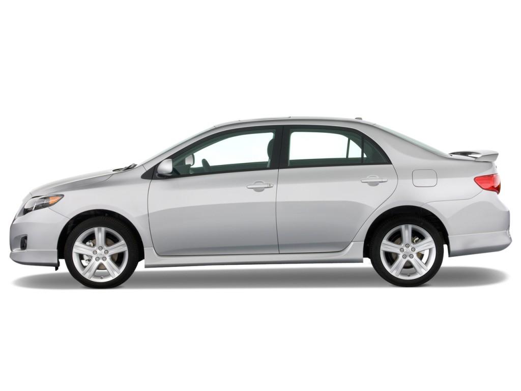 Image Toyota Corolla Door Sedan Auto XRS Natl Side - Auto corolla