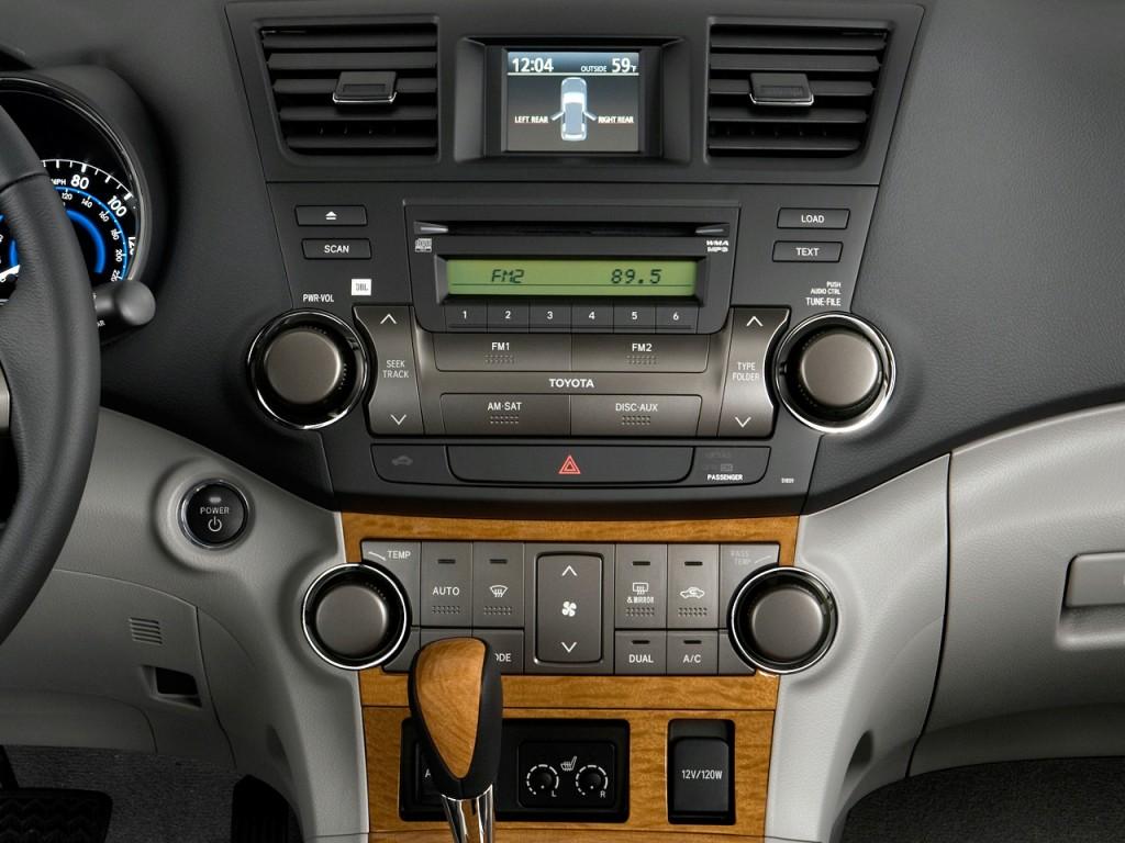 Image: 2010 Toyota Highlander Hybrid 4WD 4-door Limited ...