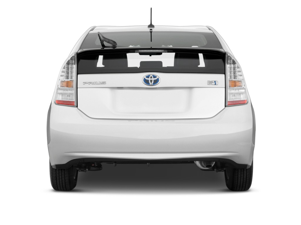 image 2010 toyota prius 5dr hb ii natl rear exterior. Black Bedroom Furniture Sets. Home Design Ideas