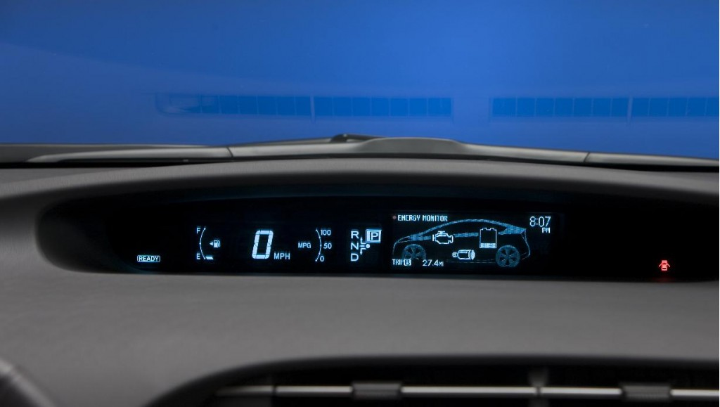 Image 2010 Toyota Prius Combination Meter Size 1024 X 579 Type Gif Posted On April 2