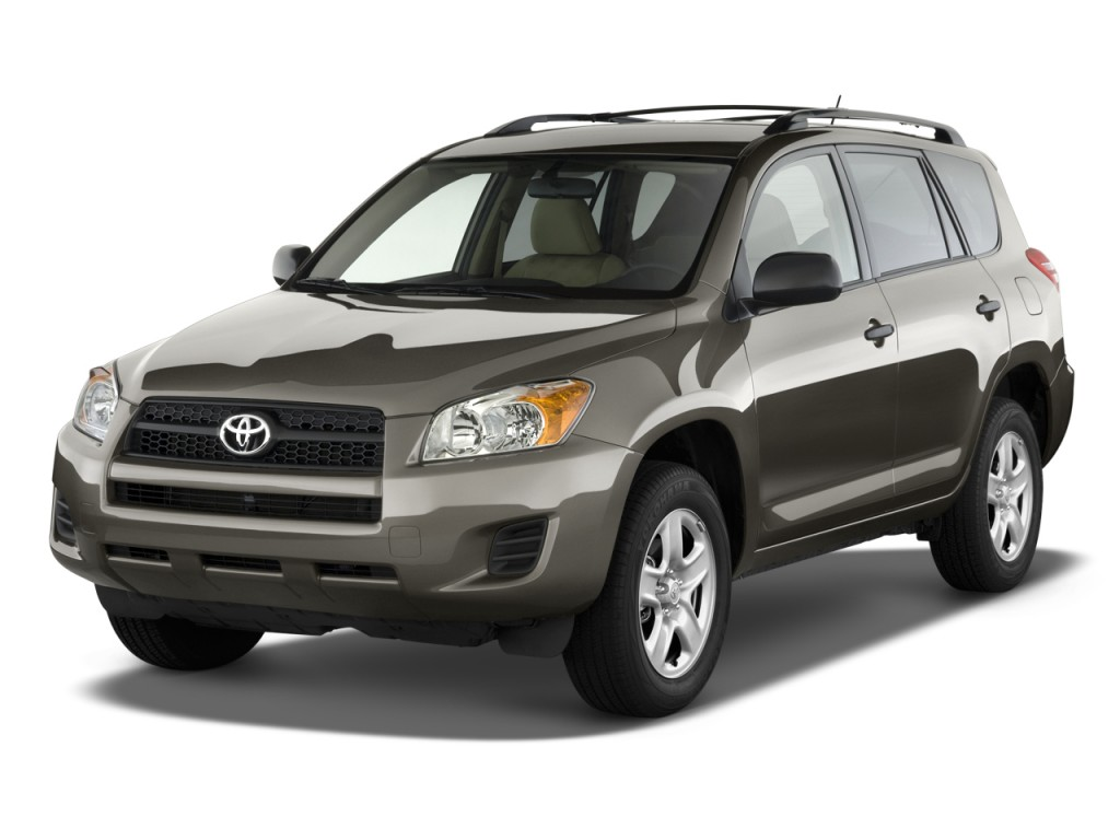 2010 Toyota RAV4 FWD 4-door 4-cyl 4-Spd AT (Natl) Angular Front Exterior View