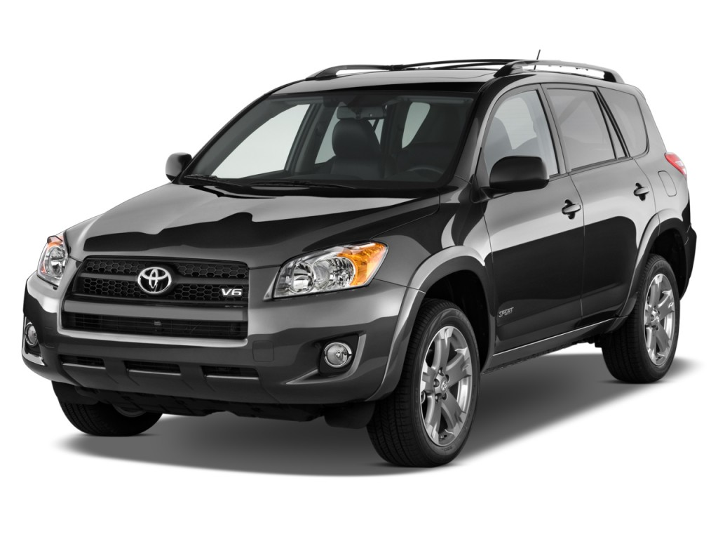 2010 Toyota RAV4 FWD 4-door V6 5-Spd AT Sport (Natl) Angular Front Exterior View