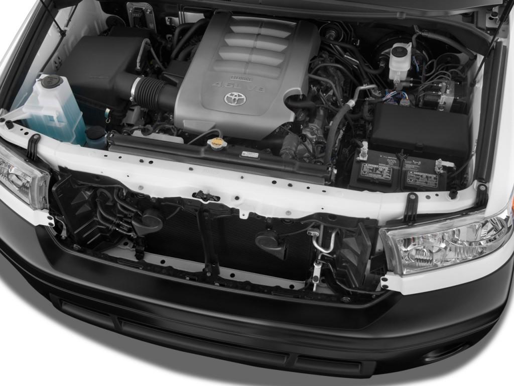 Image: 2010 Toyota Tundra Reg 4.6L V8 6-Spd AT Grade (Natl ...
