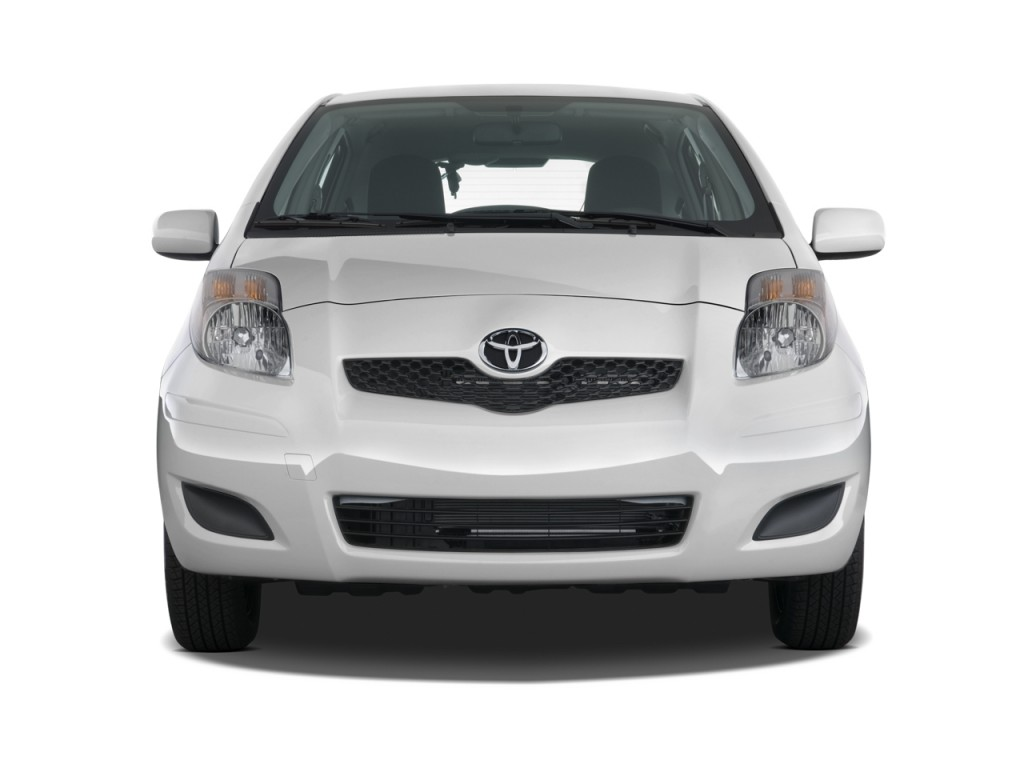 Image 2010 Toyota Yaris 5dr Lb Auto Natl Front Exterior View Size 1024 X 768 Type Gif