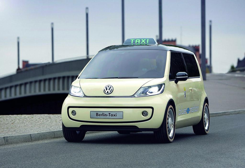 Volkswagen Debuts Zero Emissions Berlin Taxi Concept