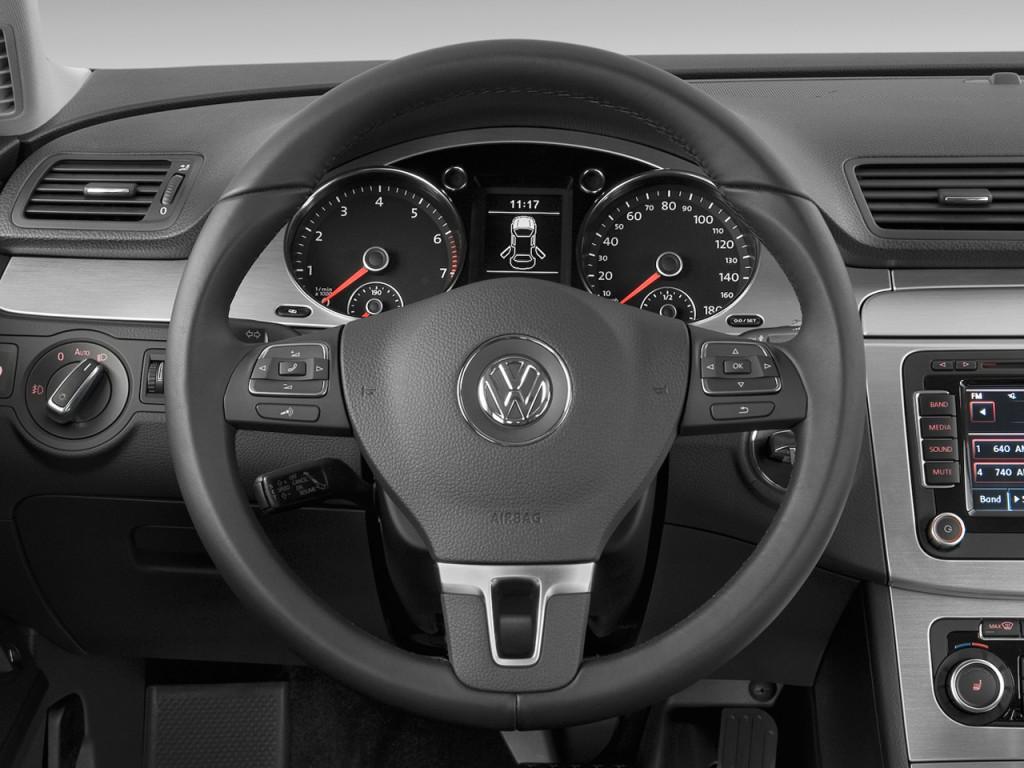 Image 2010 Volkswagen Cc 4 Door Dsg Luxury Steering Wheel