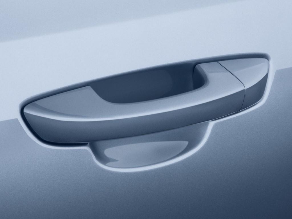 Image: 2010 Volkswagen Golf 2-door HB Auto PZEV Door Handle, size ...