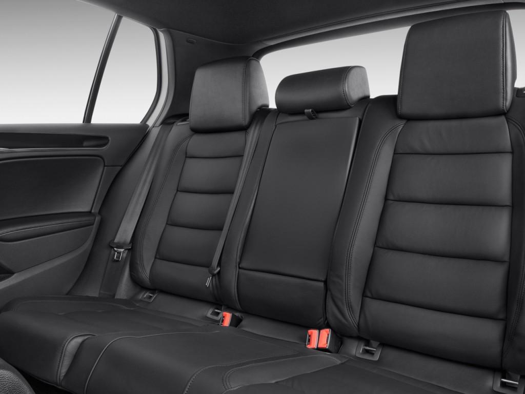 Image: 2010 Volkswagen GTI 4-door HB DSG PZEV Rear Seats ...