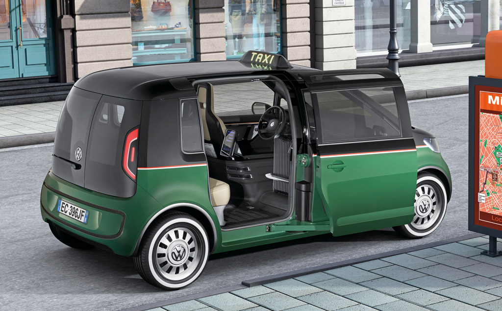 Who Makes The Best Car Battery >> Volkswagen Shows Concept For All-Electric Milano Taxi