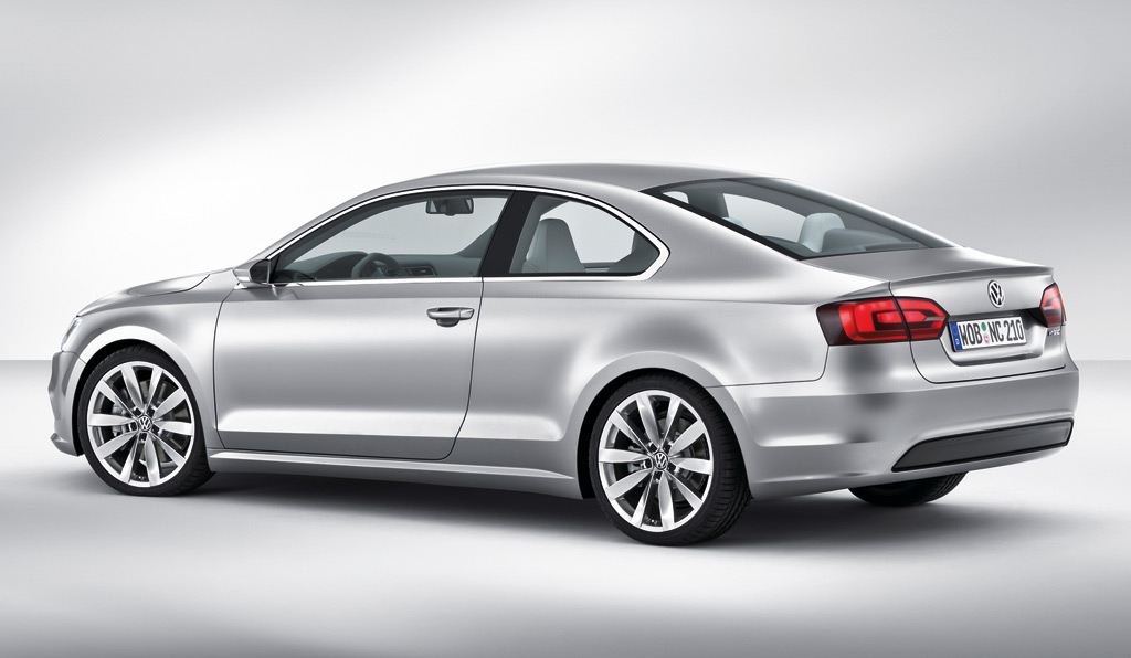 image  volkswagen  compact coupe concept  volkswagen jetta coupe size