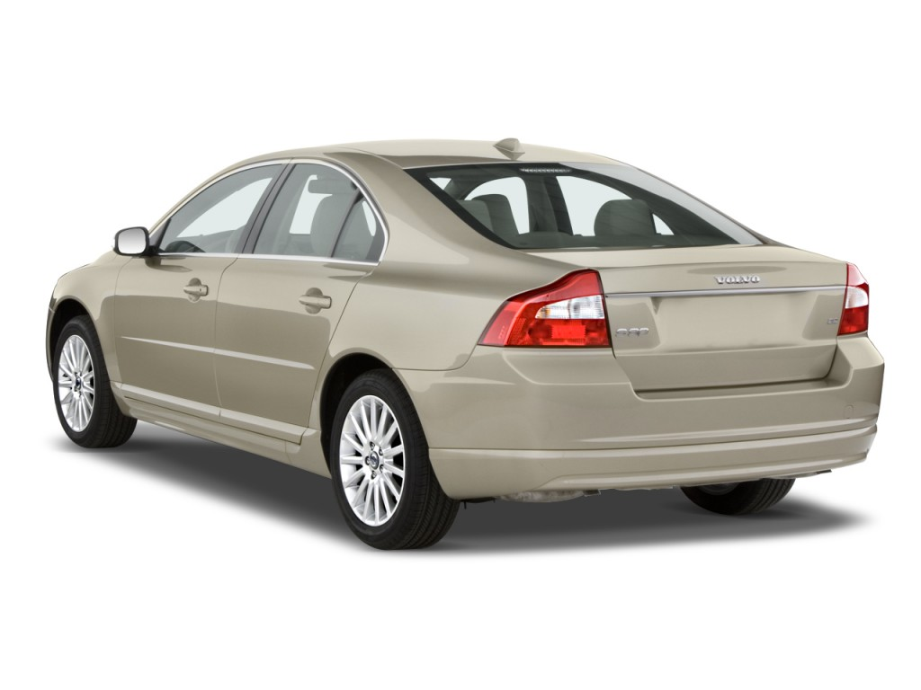 Image 2010 volvo s80 4 door sedan i6 fwd angular rear for Rear exterior door