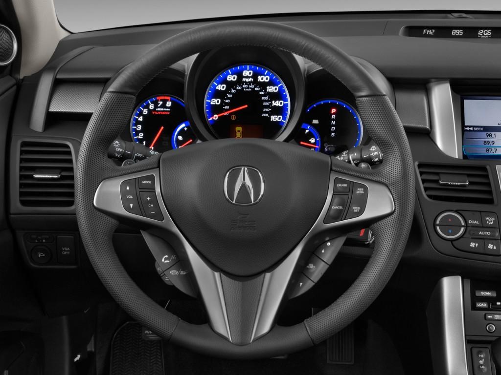 Image: 2011 Acura RDX AWD 4-door Tech Pkg Steering Wheel ...
