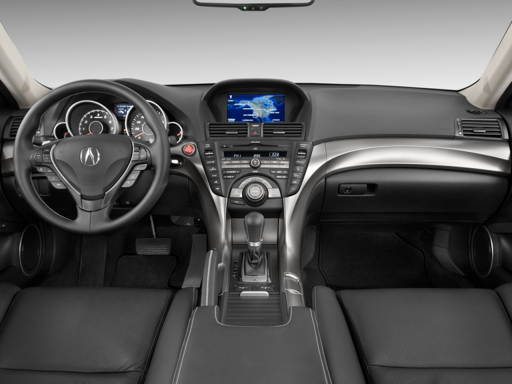 Image: 2011 Acura TL 4-door Sedan Man SH-AWD Tech HPT Dashboard, size: 1024 x 768, type: gif ...