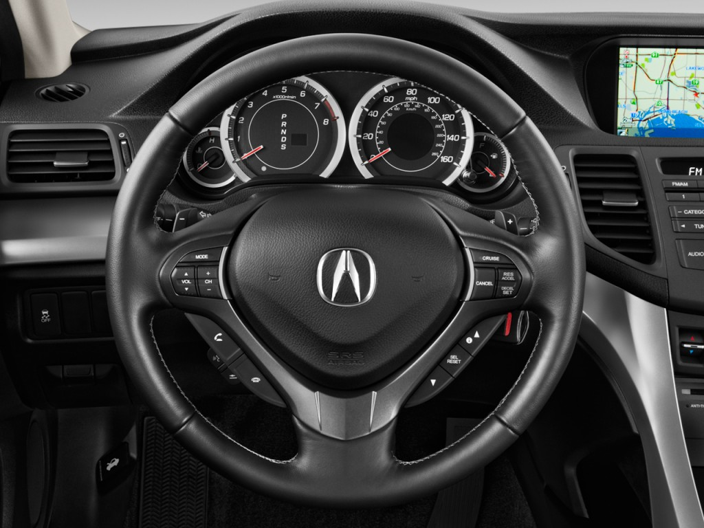 image 2011 acura tsx 4 door sedan i4 auto steering wheel. Black Bedroom Furniture Sets. Home Design Ideas