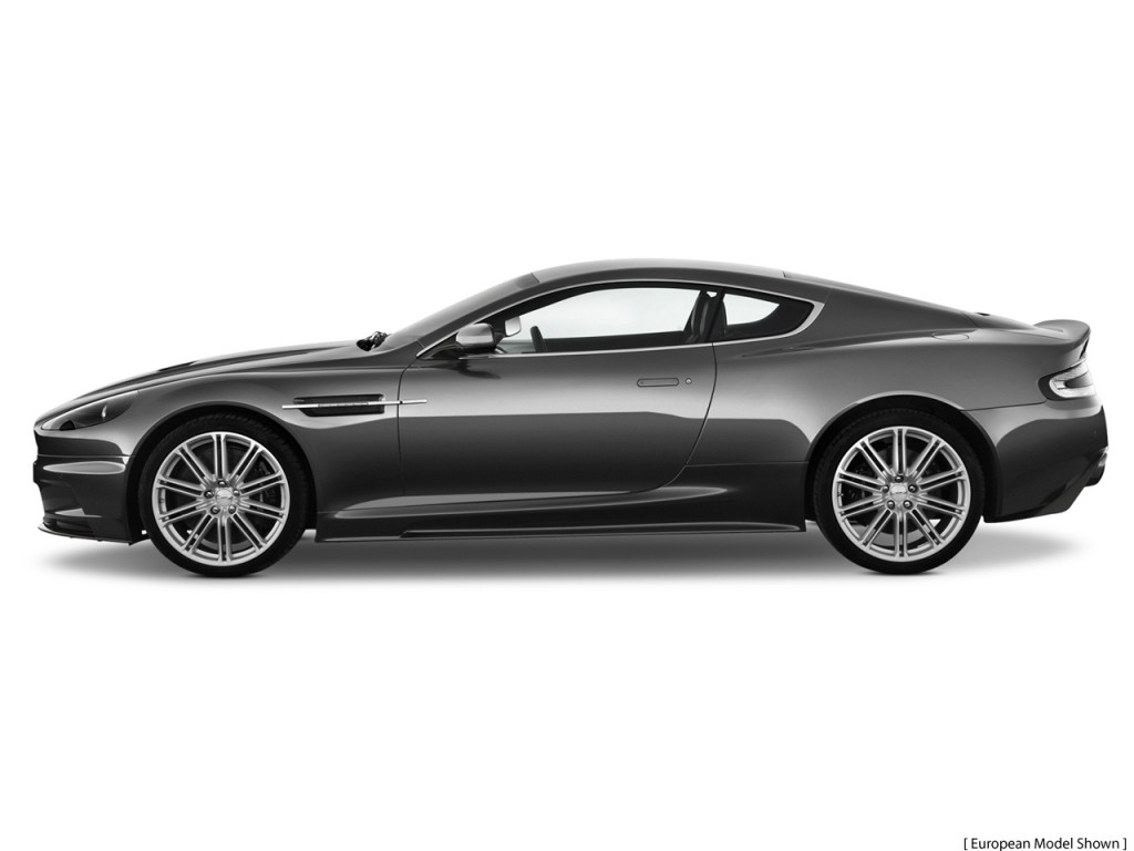 2011 Aston Martin DBS 2-door Coupe Side Exterior View