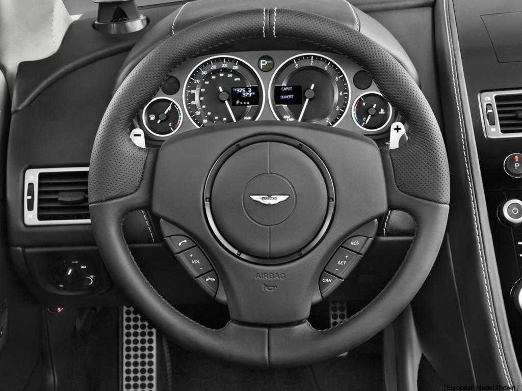 Image 2011 Aston Martin Dbs 2 Door Volante Steering Wheel