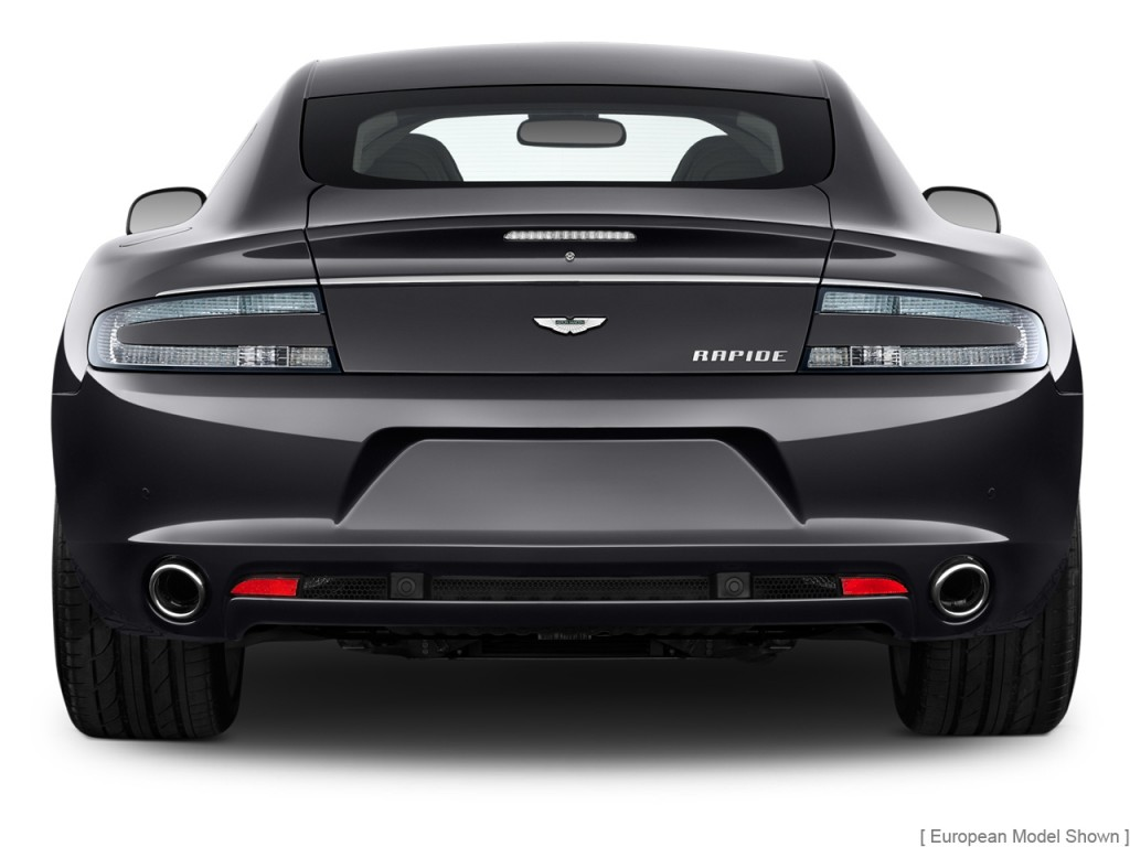 Image 2011 Aston Martin Rapide 4 Door Sedan Auto Rear