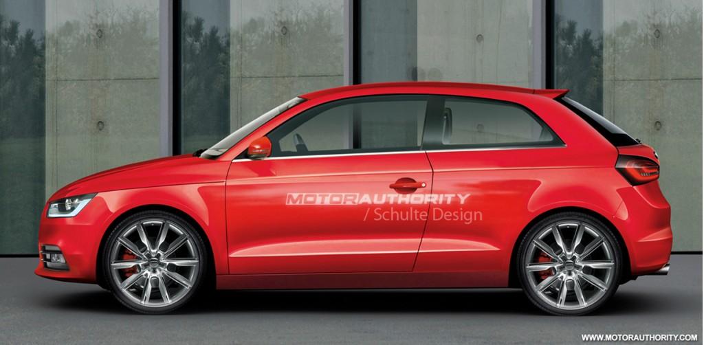 2011 audi a1 3 door preview rendering 003 & Image: 2011 audi a1 3 door preview rendering 003 size: 1024 x 502 ... pezcame.com