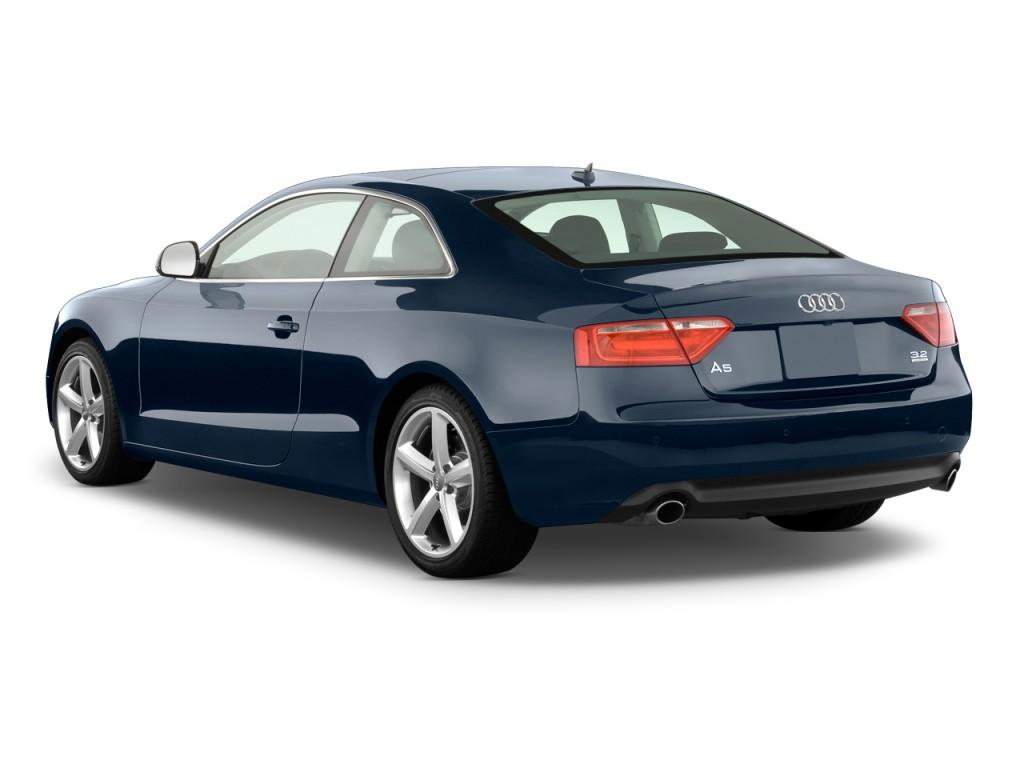 Image: 2011 Audi A5 2-door Coupe Auto quattro Premium Plus Angular Rear Exterior View, size ...