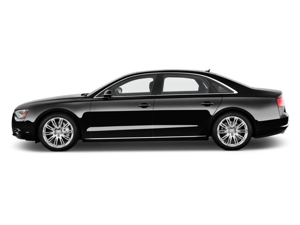 Image 2011 Audi A8 L 4 Door Sedan Side Exterior View