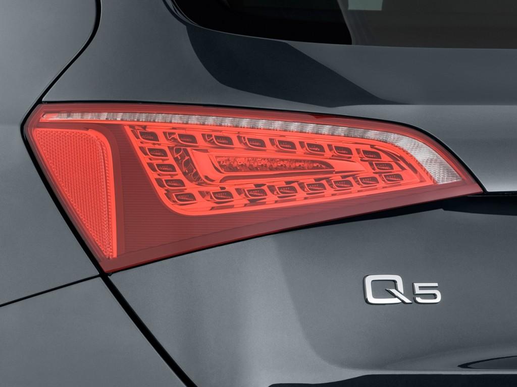 Image: 2011 Audi Q5 quattro 4-door 3.2L Premium Plus Tail ...