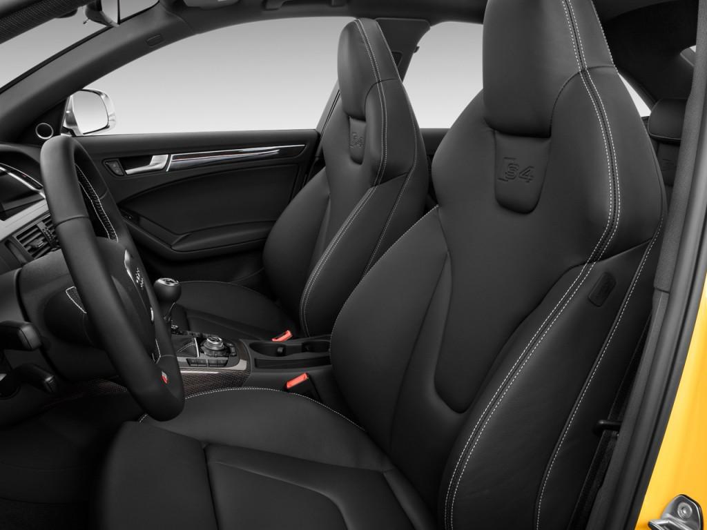 Image 2011 Audi S4 4 Door Sedan Manual Premium Plus Front Seats Size 1024 X 768 Type Gif