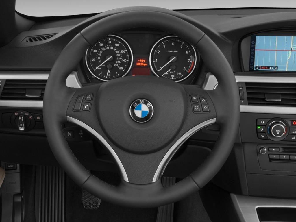 Image 2011 Bmw 3 Series 2 Door Convertible 335i Steering