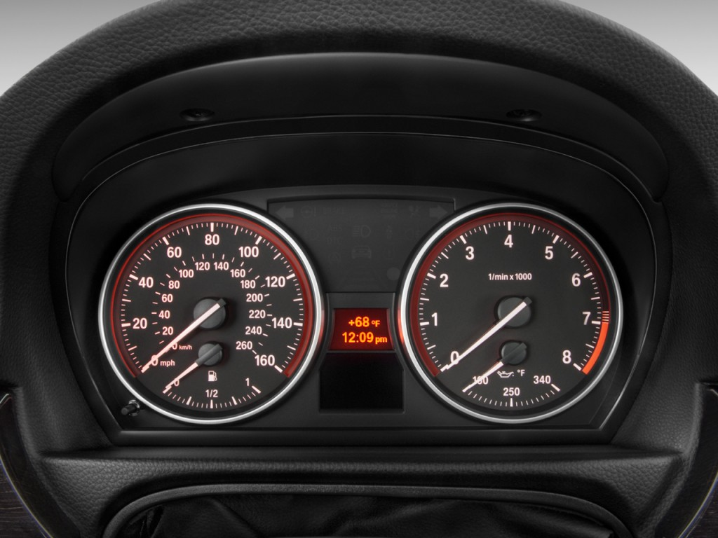 Image 2011 Bmw 3 Series 2 Door Coupe 335i Rwd Instrument Cluster Size 1024 X 768 Type Gif