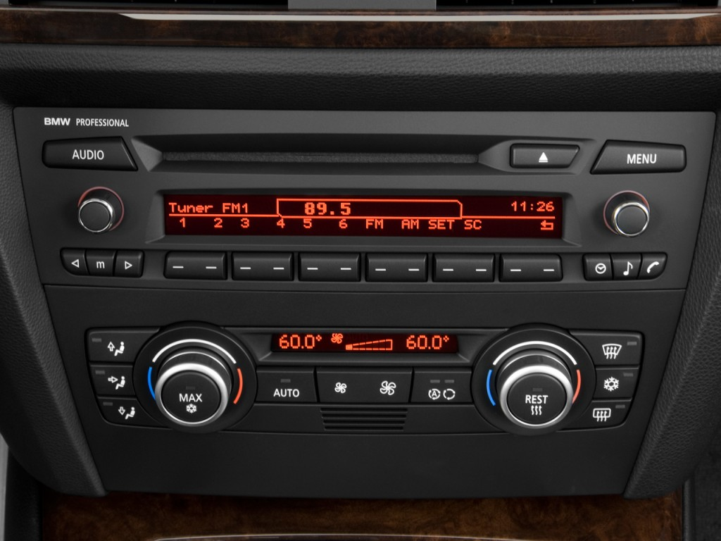 Image 2011 Bmw 3 Series 4 Door Sedan 328i Rwd Audio