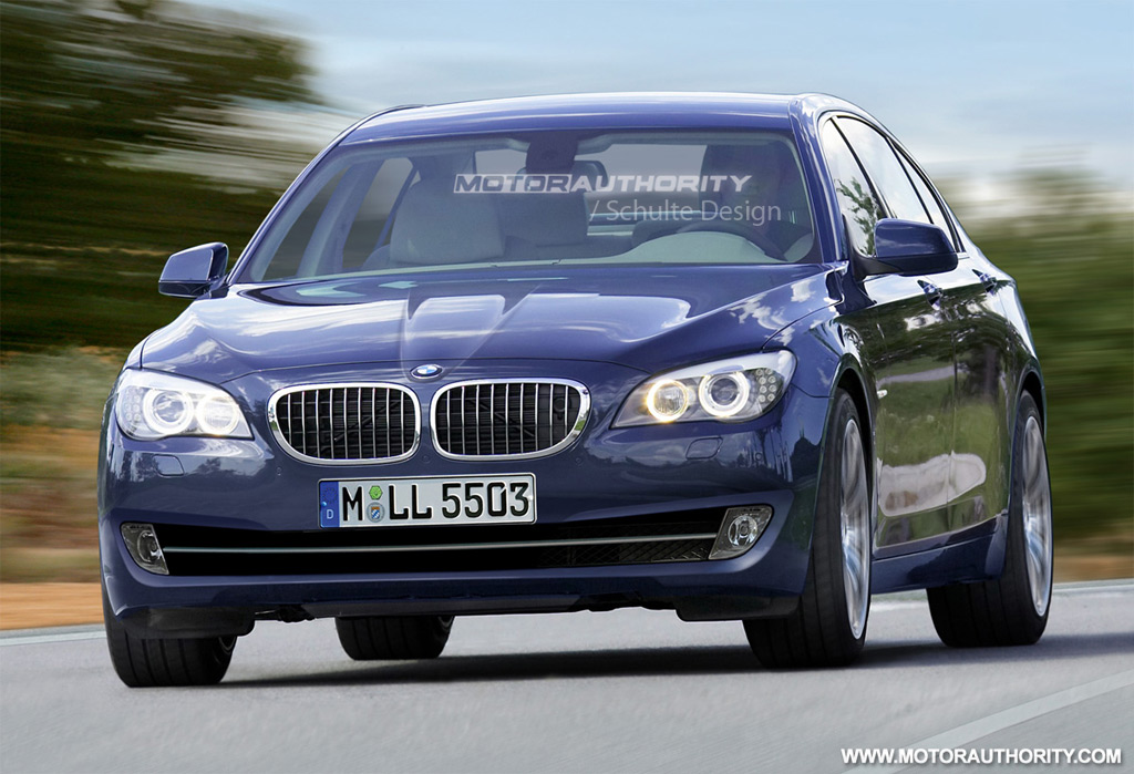 Rendered 2011 BMW 5 Series