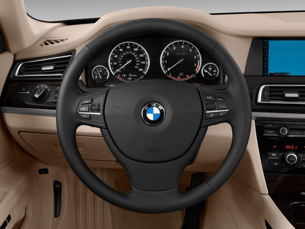 Image: 2011 BMW 7-Series 4-door Sedan 750Li RWD Steering ...