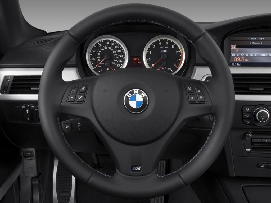 Image: 2011 BMW M3 2-door Coupe Steering Wheel, size: 1024 ...
