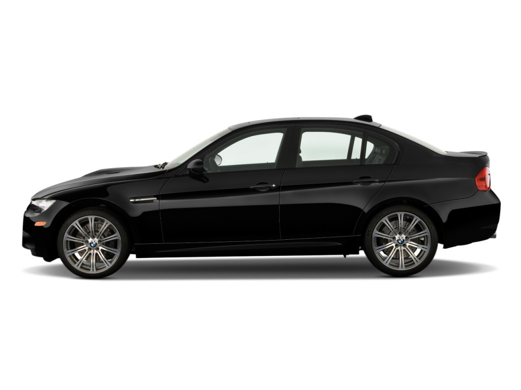 2011 BMW M3 4-door Sedan Side Exterior View