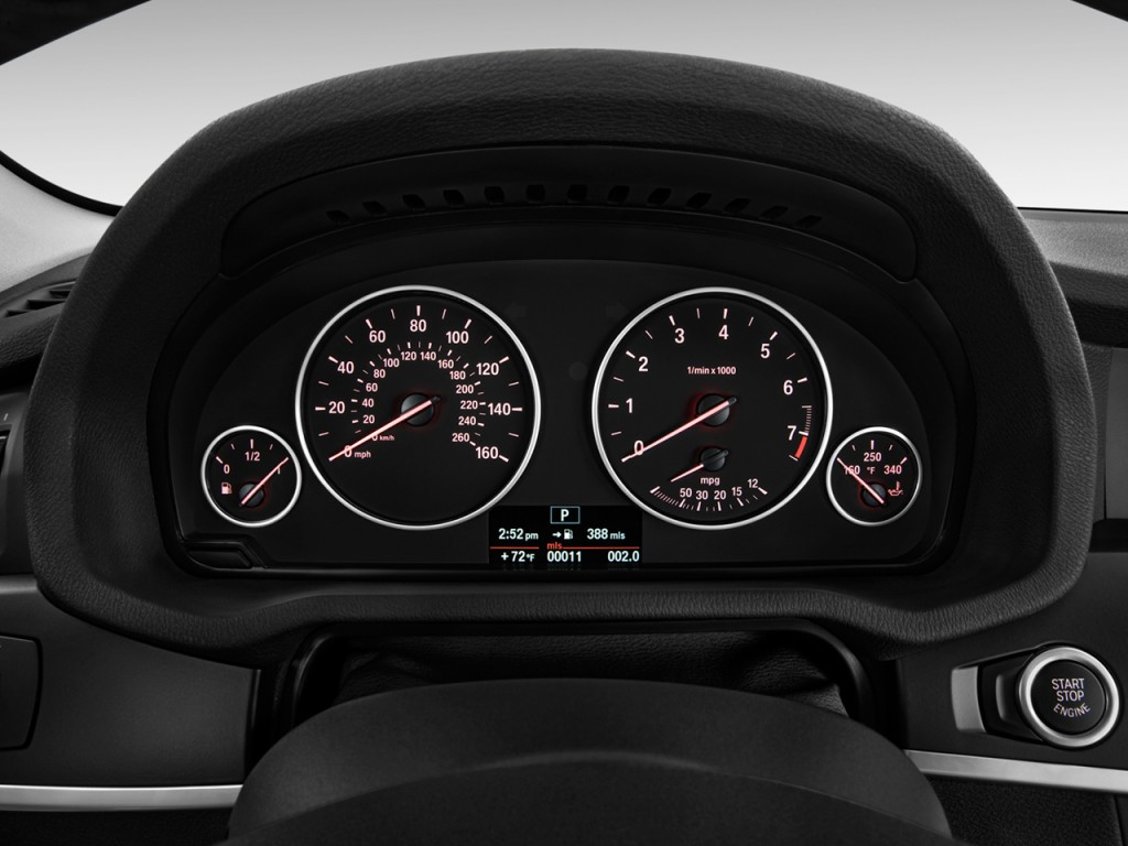Image: 2011 BMW X3 AWD 4-door 28i Instrument Cluster, size ...