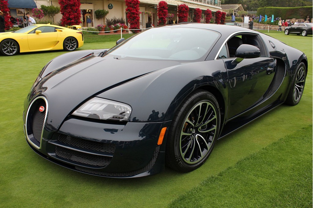 Bugatti Veyron Super Sport Specs Released Limited To 10 Mph Below