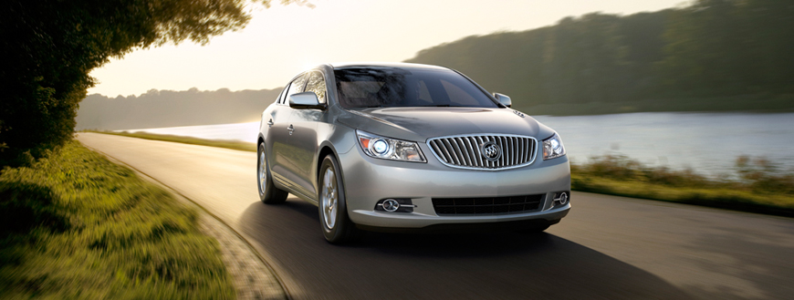 2011 Buick LaCrosse Earns The NHTSA's Top Rating