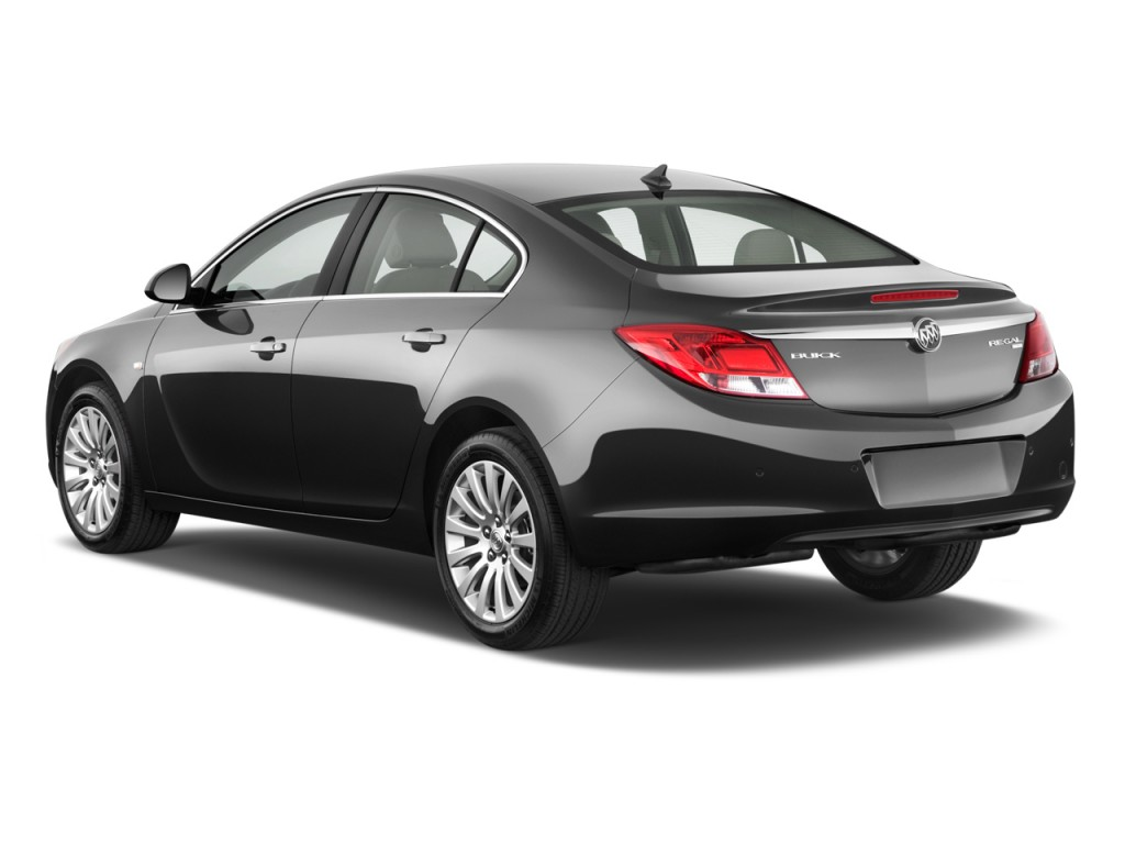 2011 Buick Regal 4-door Sedan CXL RL3 Angular Rear Exterior View