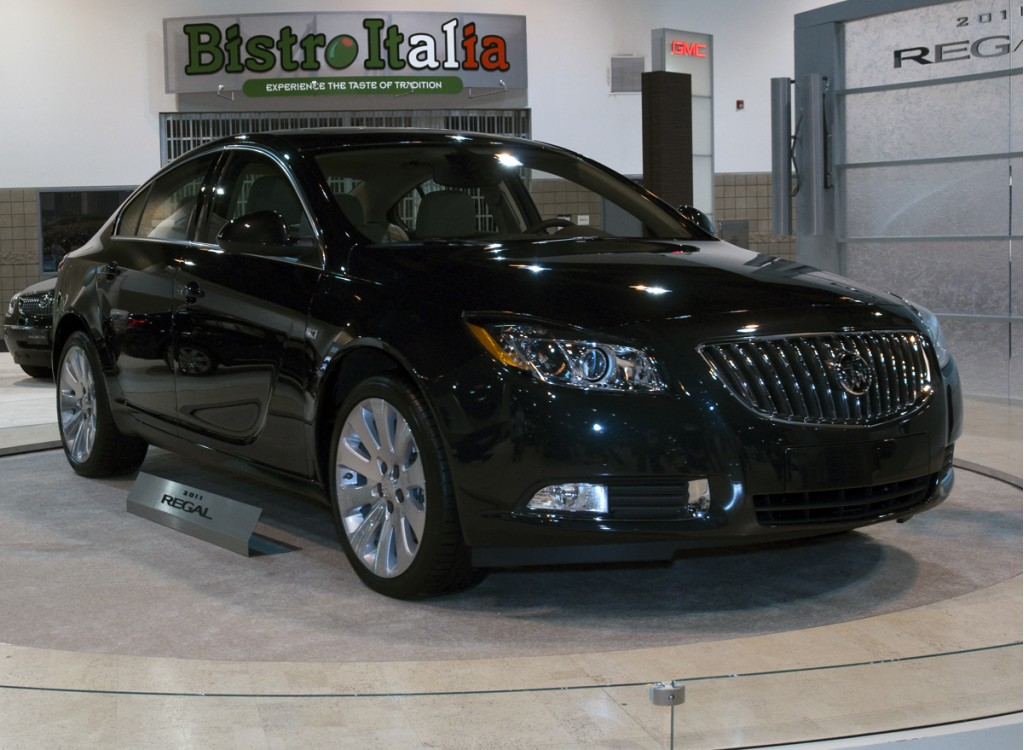 Image 2011 Buick Regal At 2010 Denver Auto Show Size 1024 X 750 Type Gif Posted On April