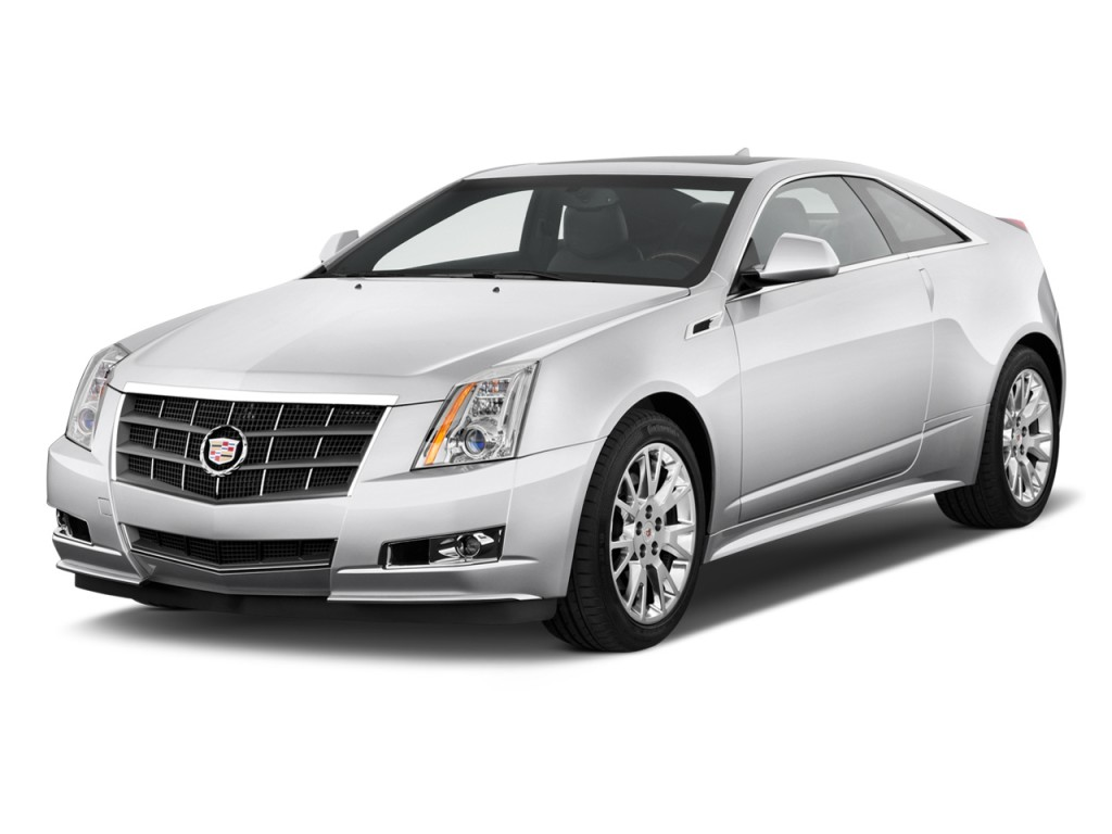 Used Cadillac Cts Coupe >> Image: 2011 Cadillac CTS Coupe 2-door Coupe Premium RWD Angular Front Exterior View, size: 1024 ...